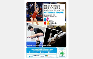 1/2 finales Coupes Nationales Mixtes